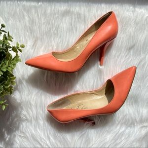 Marc Fisher Pointed Toe High Heels Salmon 6